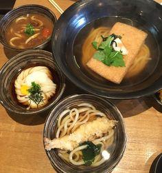 #우동카덴 #유부우동 & 三美우동  #myfavorite #food #restaurant #Udon花伝 #きつねうどん