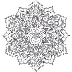 Best Printable Mandala Coloring Pages - Printable Coloring Pages To Print Mandala Art, Mandala Drawing, Mandala Pattern, Mandala Tattoo, Trippy Drawings, Colorful Drawings, Mandala Coloring Pages, Coloring Book Pages, Zentangle