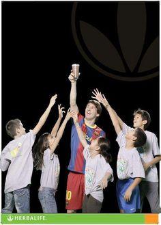 Leo Messi  & Herbalife Family Foundation