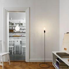 Design House Stockholm Cord Lamp Lampada da terra