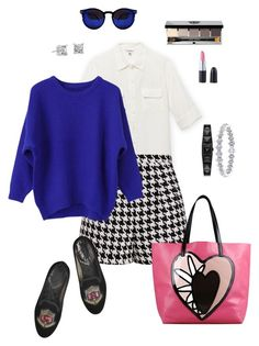 """""""classy summer casual"""" by ulusia-1 ❤ liked on Polyvore featuring Calvin Klein, Emma Cook, Marc Jacobs, Karl Lagerfeld, Bobbi Brown Cosmetics, Blue Nile and RED Valentino"""