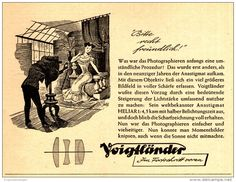 Original-Werbung/Anzeige 1951 - VOIGTLÄNDER  ANASTIGMAT HELIAR 1: 4,5 - ca. 120 X 100 mm