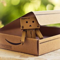 Welcome Home Danbo! by Sarah-BK.deviantart.com # Photography / Still Life / Dolls and Figures