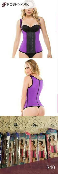 Full control body shaper vest In purple The Full Control Body Shaper Vest is an undergarment designed to improve self confidence. It's efficient because it gives you the waistline and abdomen that you've been dreaming of   The built-in structural rods, the full back coverage, the wide straps and the 3-position hook closure, are the elements of the body shaper vest that lengthen and slim down your torso,  cysm Intimates & Sleepwear Shapewear