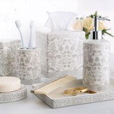 Birch Lane Gray & White Porcelain Collection & Reviews   Wayfair