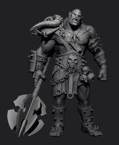 Making Of Orc with Zbrush Tutorial