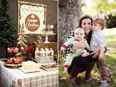 Camp Christmas Party... printables by Lauren Haddox Designs