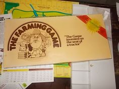 The Farming Game 1979 Invented by a Farmer, Vintage Board Game, Vintage Game, Farming by Daysgonebytreasures on Etsy