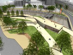 Espacio Publico. Lugar donde puede interactuar la gente de manera libre, y donde cualquier persona puede accesar.