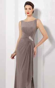 Embellished Jersey Gown by Cameron Blake 216690