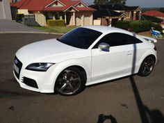 This is an Audi TTRS in Sydney that we tinted its window's