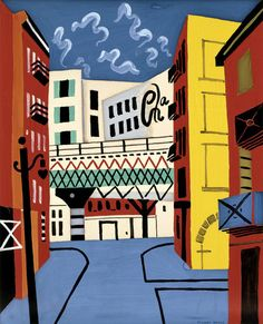 New York Elevated by Stuart Davis from San Diego Museum of Art