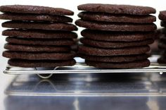 chocolate wafers by smitten, via Flickr