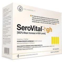 Other Vitamins and Supplements: Bremenn Clinical Strength Serovital-Hgh 30 Day Supply 120 Capsules BUY IT NOW ONLY: $118.8