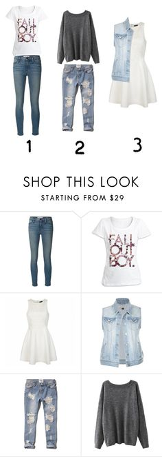 """""""Comment Which One Is Your Favorite!"""" by emily48506 ❤ liked on Polyvore featuring Frame Denim, Ally Fashion and Abercrombie & Fitch"""