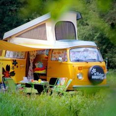 Roadtrippin' Europe in a vintage campervan.