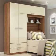 20 Newest Bedroom Storage Design Ideas For Small Space Newest Bedroom Storage Design Ideas For Small Space 11 Ikea Small Bedroom, Small Bedroom Storage, Home Office Storage, Small Bedroom Designs, Small Bedroom Interior, Bedroom Cabinets, Bedroom Furniture, Bedroom Decor, Bedroom Apartment