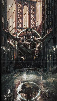 Kyrie In Brooklyn Basketball Drawings, Basketball Posters, Basketball Art, Basketball Pictures, Basketball Girlfriend, Basketball Videos, Basketball Design, Basketball Birthday, Basketball Funny