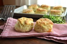 Gruyere Cheese & Rosemary Buttermilk Biscuits