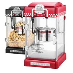 great northern popcorn 25 ounce red tabletop retro style compact popcorn popper machine with removable tray