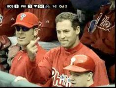 Pat Burrell. I mean that's just Pat. Philadelphia Phillies.