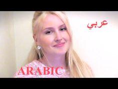 Girl Speaking Arabic!