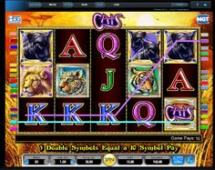 Vytrvalé mačičky pre vás získajú bohatstvo. Zaujímavé dobrodružstvo plné bonusov a úžasných výhier Vás čaká na výhernom automate Cats.  Pochádza z dielne spoločnosti IGT gaming, a ponúka až 30 výherných kombinácií. http://www.3diamanty.com/hry/vyherny-automat-cats  #3diamanty #Hry #Jackpot #Vyhra #Vyhernyautomat #Cats