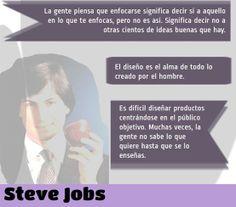 ... Frases de Steve Jobs.