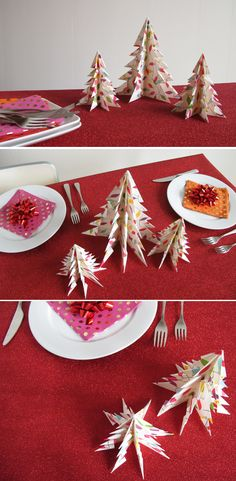 Oh my - these paper Christmas trees are just BEAUTIFUL! Easy to do too if you follow the steps closely!
