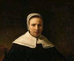 Detail of Portrait of Anne Bradstreet by unknown painter).  Born in England, Anne Bradstreet (1612-1672) became the first published poet in America with her collection The Tenth Muse, Lately Sprung Up in America written by A Gentlewoman from Those Parts.