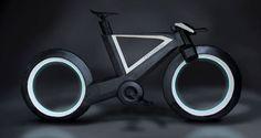 Cyclotron-carbon-fiber-bike-without-wheels