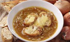 Descobrimos a receita da tradicional Sopa de Cebola Francesa - Goiânia