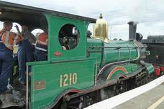An 1878 steam engine run by The Australian Rail Historical Society which runs a range of rail trips from Canberra using a vintage rail motor, steam of various sorts and the occassional diesel. The short trip from the Rail Museum to Fyshwick and back is brilliant.