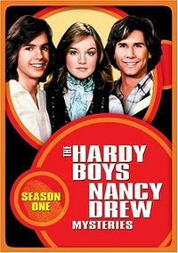 The Hardy Boys/Nancy Drew Mysteries (retitled The Hardy Boys Mysteries for season three) is a television series which aired for three seasons on ABC. The series starred Parker Stevenson and Shaun Cassidy as amateur sleuth brothers Frank and Joe Hardy, respectively, and Pamela Sue Martin (later Janet Louise Johnson) as girl detective Nancy Drew. 1977-1979