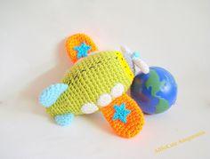 Ravelry: Crochet Airplane pattern by AllSoCute Amigurumis