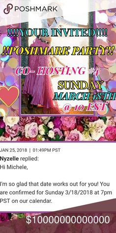 IT'S A POSH PARTY!! TAG YOUR PFF'S & SHARE !! Yay!!!  PARTY!!!🎊🎈🎊I'm So excited to host again! POSH COMPLAINT CLOSETS ONLY! -PLZ - do not send listings to my dressing room or write on listings! Thanks!  New Poshers needed! Thank you Sincerely Ladies!! Tag  your pff's! Hope to see y'all there! Xoxo🎈 Rock Revival Jeans Boot Cut