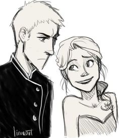 Throne of Glass....Chaol Westfall and Celaena Sardothien. Love these too.