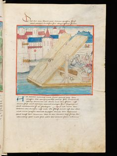 Bern, Burgerbibliothek, Mss.h.h.I.2, f. 281 – Diebold Schilling, Amtliche Berner Chronik, vol  2