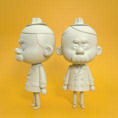 Random 3D Cartoons on Behance