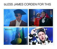 BLESS NIALL HORAN AND JAMES CORDEN AND THE WHOLE WORLD!