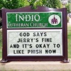 Still don't like Phish...