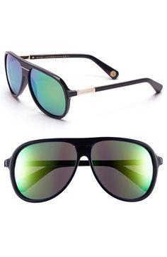 MARC JACOBS 60mm Aviator Sunglasses Accessoires Pour Femme, Accessoires De  Mode, Lunettes De Soleil 54ba16994c98