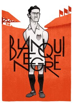 Blanquinegre by Jorge Lawerta, via Behance