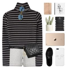 """""""melting like ice on a summer day"""" by frostedfingertips ❤ liked on Polyvore featuring adidas, Puma, Allstate Floral, Topshop, Chanel, haileelook and clarelook"""