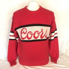 Miller Lite Beer Sweater Light Ugly Xmas Budweiser
