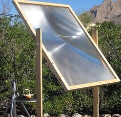 How to get 2000ºF Solar Power – Purify water, cook food, melt padlocks and metal and start a fire.