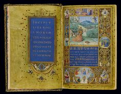 The Medici Psalter, MS 37-1950, fols. 1v-2r
