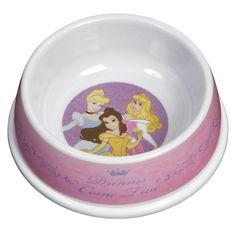 Love this anti slip Disney Princesses Dog Bowl. Cute Dog Bowls, Dog Supplies, Guinea Pigs, Cute Dogs, Puppies, My Favorite Things, Pets, Disney Princesses, Dog Stuff