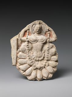 Dakini Emerging from a Flower, ca. 6th-7th Century, China