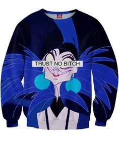 c77cef0b36b43 Trust No Bitch Yzma Sweatshirt Dope Outfits